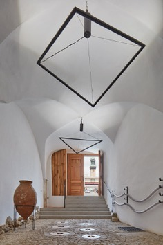 ORA Designed a Winery in a Renaissance House with a View of a Capuchin Garden