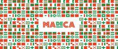 MADECA restaurant branding on Behance