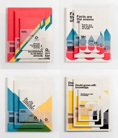 Tumblr #design #books #graphic #notepads #officemilano #typography