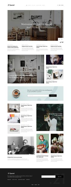 Blog design #design #blog #webdeisgn #ui #ux #digital #blogging #grid #layout