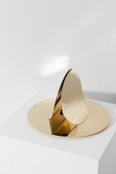 Helmet – Minimalissimo #minimal #minimalism #mirror #lighting #lamp #design #brass