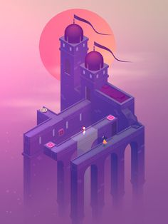 monument valley, video games