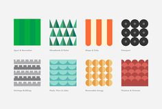 The Community Shares Company by Fieldwork #graphic design #icons #colourful #shapes