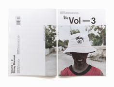 Stussy Biannual Vol. 3 Layout Book