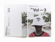 Stussy Biannual Vol. 3 Layout Book