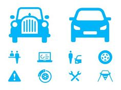 Dribbble_upload_img_cars #oldtimer #pictogram #icon #symbol #car