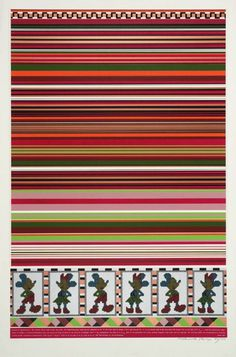 """Horizon of Expectations"" (Sir Eduardo Paolozzi, 1967) #pattern #geometry #pop #color #1960s #poster #art"