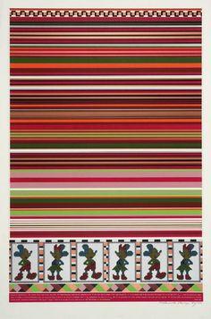 """Horizon of Expectations"" (Sir Eduardo Paolozzi, 1967) #pattern #geometry #pop #color #1960s #poster #art"