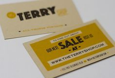 The Terry Shop – Ed Nacional / Graphic Designer / Brooklyn, NY