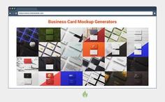Creative Business Card Mockup Templates to Create Beautiful Mockups
