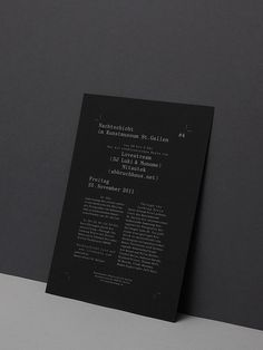 Kasper Florio #flyer #black #typography