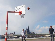 Koln b-ball | Flickr - Photo Sharing! #david #germany #walby #iphone #cologne #sports #koln #europe #basketball