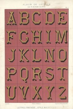 1882lettres 11 | Flickr - Photo Sharing! #specimen #typeface