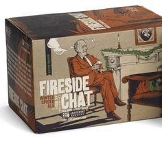 21st Amendment Fireside Chat #packaging #beer #can #label