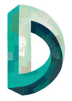 """D"" by Darren Booth. Vote for it on The Type Fight. #type"