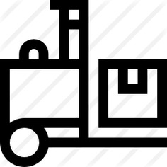 See more icon inspiration related to shipping and delivery, construction and tools, transportation, electric, forklift, lift, delivery, industrial, industry, truck, fork, vehicle and transport on Flaticon.