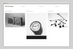 Richard Sapper #design #website #grid #layout #web