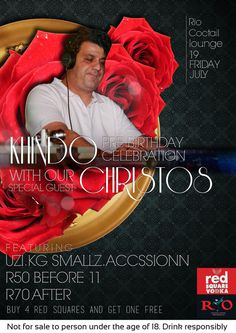 Christos #house #typography #design #graphic #africa #wednesday #south #karaoke #kimberley #deep #club