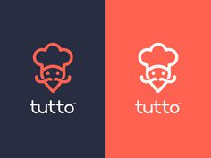 Food Delivery Logo Design - Tutto V2