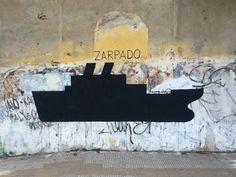 ZARPADO | Gaucholadri #gaucholadri #streetart #argentina #wall #painting #zarpado