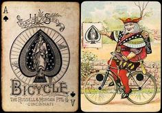 bicycle-as.jpg 436×306 pixels #pattern #card #playing #vintage #typography