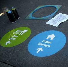 Wayfinding | Signage | Sign | Design | 蓝绿橙色南美洲国家标志符号