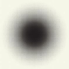 (40) Tumblr #pixel #circle #polka #dot #blend #gradient #halftone #pattern