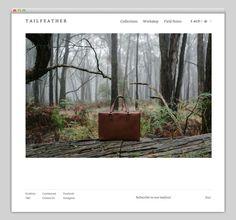 Tailfeather #website #layout #design #web