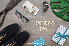 Father's day composition with lettering Free Psd. See more inspiration related to Mockup, Love, Gift, Family, Leaf, Box, Clock, Gift box, Mobile, Celebration, Happy, Gift card, Glasses, Smartphone, Present, Shoes, Mock up, Watch, Father, Fathers day, Celebrate, Tie, Happy family, Lettering, Dad, Parents, Up, Day, Lovely, Greeting, Male, Objects, Daddy, Things, Composition, Mock, Fathers, June, Masculine, Familiar and Nineteen on Freepik.