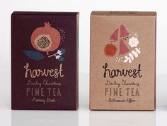 querida clementina colheita bom chá #lettering #packaging #drawn #tea #hand