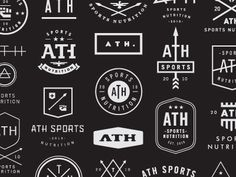 ATH Sports Nutrition concepts #logos #concepts #sports #ath #nutrition