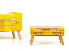 merry crate table 01 #crate #furniture #table #recycled