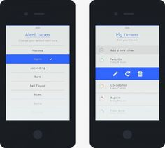 15_ios iphone minimal app design example #iphone #minimalist #white #interface