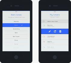 15_ios iphone minimal app design example