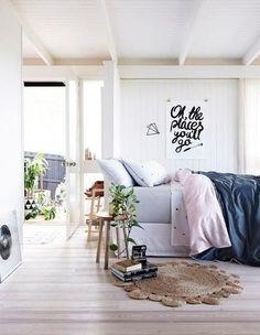 Likes   Tumblr #interior #apartment #paitning #bed