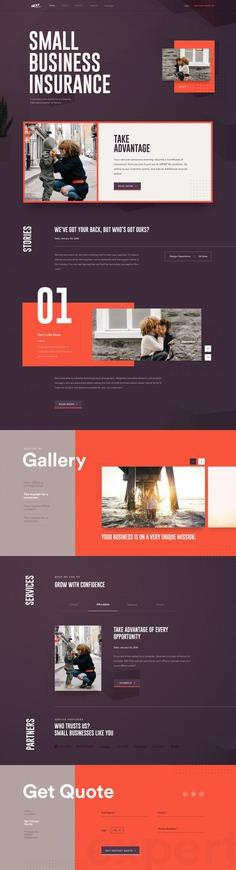 Next Insurance | Website Design Concept