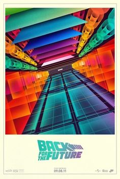 Original Nike Back For The Future Poster Art original-nike-back-for-the-future-poster-art-la-boca – CounterKicks #bttf