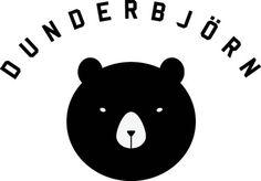 Dunderbjorn Logotype #logotype #vector #dunderbjorn #logo #bear #animal #dunderbjrn