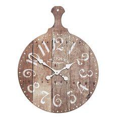 Rawley Round Board Wall Clock, 60 cm H