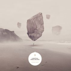 Anthony Drawn - A beautiful fragile balance on Behance #artwork #cover #cd