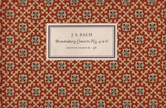 Penguin Scores no. 22: 1954 | Flickr - Photo Sharing! #design #graphic #book #cover #tschichold #jan #music #patterns