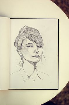 _DSC4121small #girl #women #portrait #drawing #faces