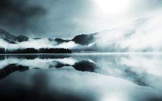 wow #sun #fog #freedom #photography #sea #storm #blue #beauty