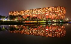 Beijing National Stadium (Beijing, China) #building #architecture #house #interesting