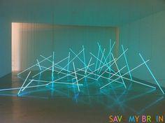 François Morellet Reinstallations Centre Pompidou 3.jpg (500×373) #franois morellet