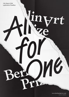 HelloMe_BerlinArtPrize_Poster_AllForOne_01 #print #poster