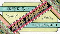 Today, 06.06.09: Observatory: Design Observer #electrotyping #vintage #typography