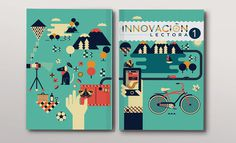 Cherry Bomb: Innovación Lectora Series / on Design Work Life #design #graphic #book