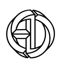 A·D Monogram on the Behance Network #design #graphic #alex #trochut #monogram