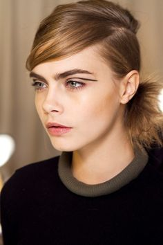 Rag and Bone FW 2013 #fashion #face #makeup